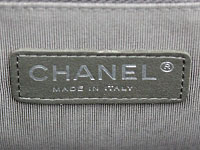 7756054dca16 ... or engraved onto a metal plaque inside the bag. Look at the font and  how the lettering is spaced. See examples below of authentic Chanel fonts.