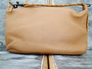 Bottega Veneta Tan Deerskin Small Shoulder Bag
