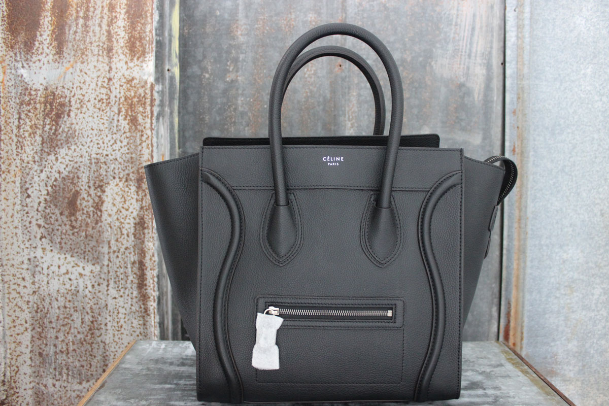 c9ad2ab324ad Celine 2014 Brand New Mini Luggage Tote Black. Tap to expand