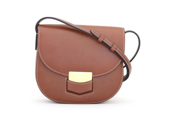 Celine Small Trotteur Cross Body Bag Brown