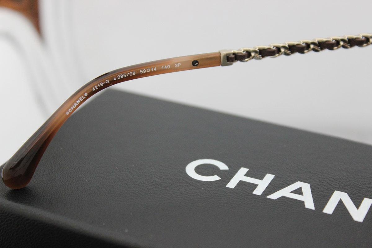 82098f5851 Chanel 4219 Chain sunglasses at Jill s Consignment
