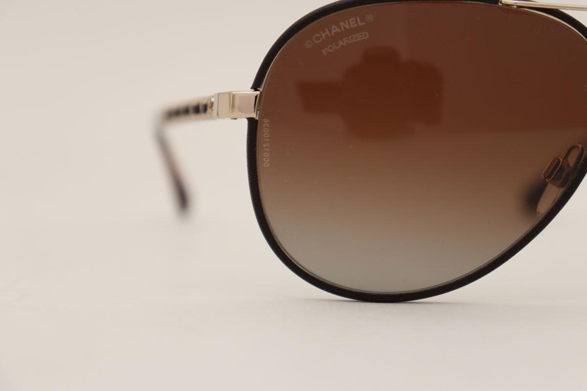 fbd73f8a79 Chanel 4219 Q Pilot Chain Sunglasses at Jill s Consignment