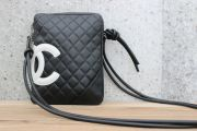 Chanel Black & White Cambon Crossbody Messenger