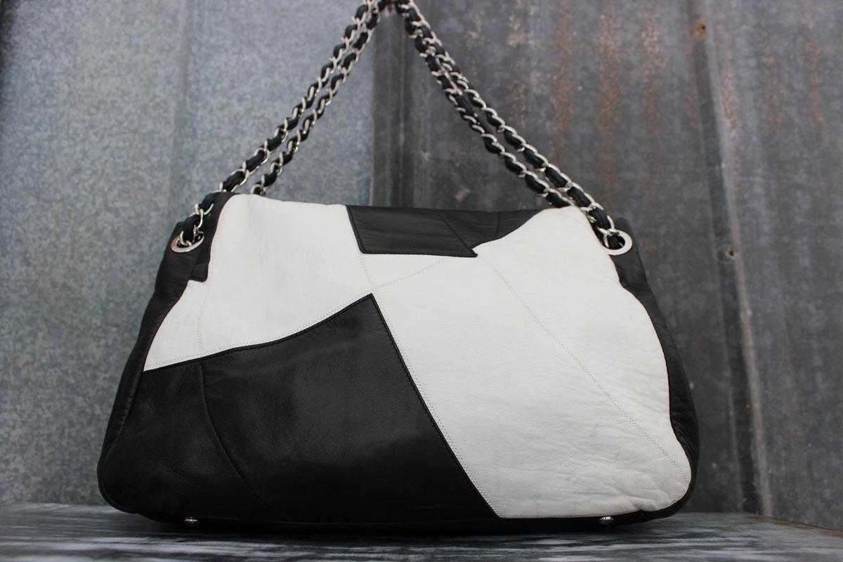 Chanel Brooklyn Black Amp White Flap Bag