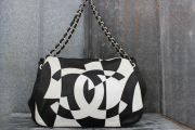 Chanel Brooklyn Black & White Flap Bag