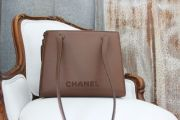 Chanel Brown Caviar Leather Shoulder Bag