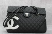 Chanel Black & White Cambon Large Flap Bag