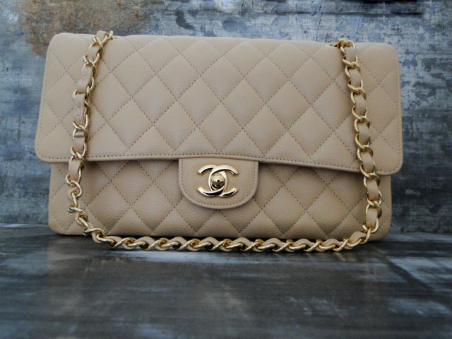 Chanel Classic Caviar Double Flap Bag