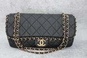 Chanel Chain Around Shoulder Bag Black
