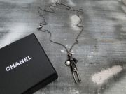 Chanel Coco Doll Figurine Necklace Limited Edition