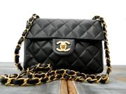 Chanel Classic Quilted Lambskin MINI FLAP
