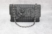 Chanel Quilted Lambskin No 5 Camelia Flap Bag