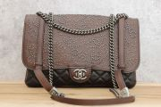 Chanel Paris Dallas Studded Lambskin & Calfskin Flap Bag