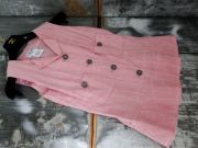 Chanel Pink Sleeveless Top Size 34