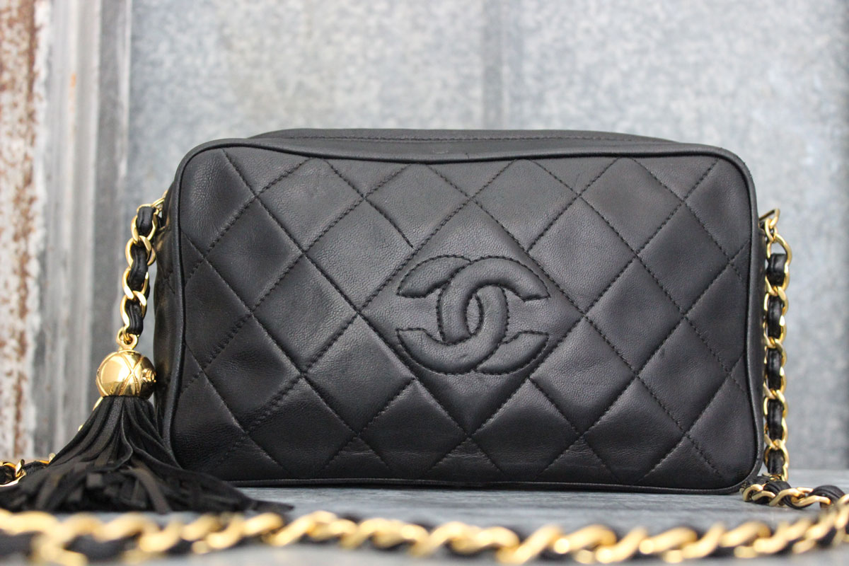 fa18f7d3c257 Vintage Small Chanel Purse With Tassel | Stanford Center for ...