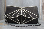 Chanel 'Midnight Swim' Stingray & Pearl Origami Clutch