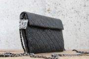 Chanel Metallic Quilted CC Charm Crossbody Bag