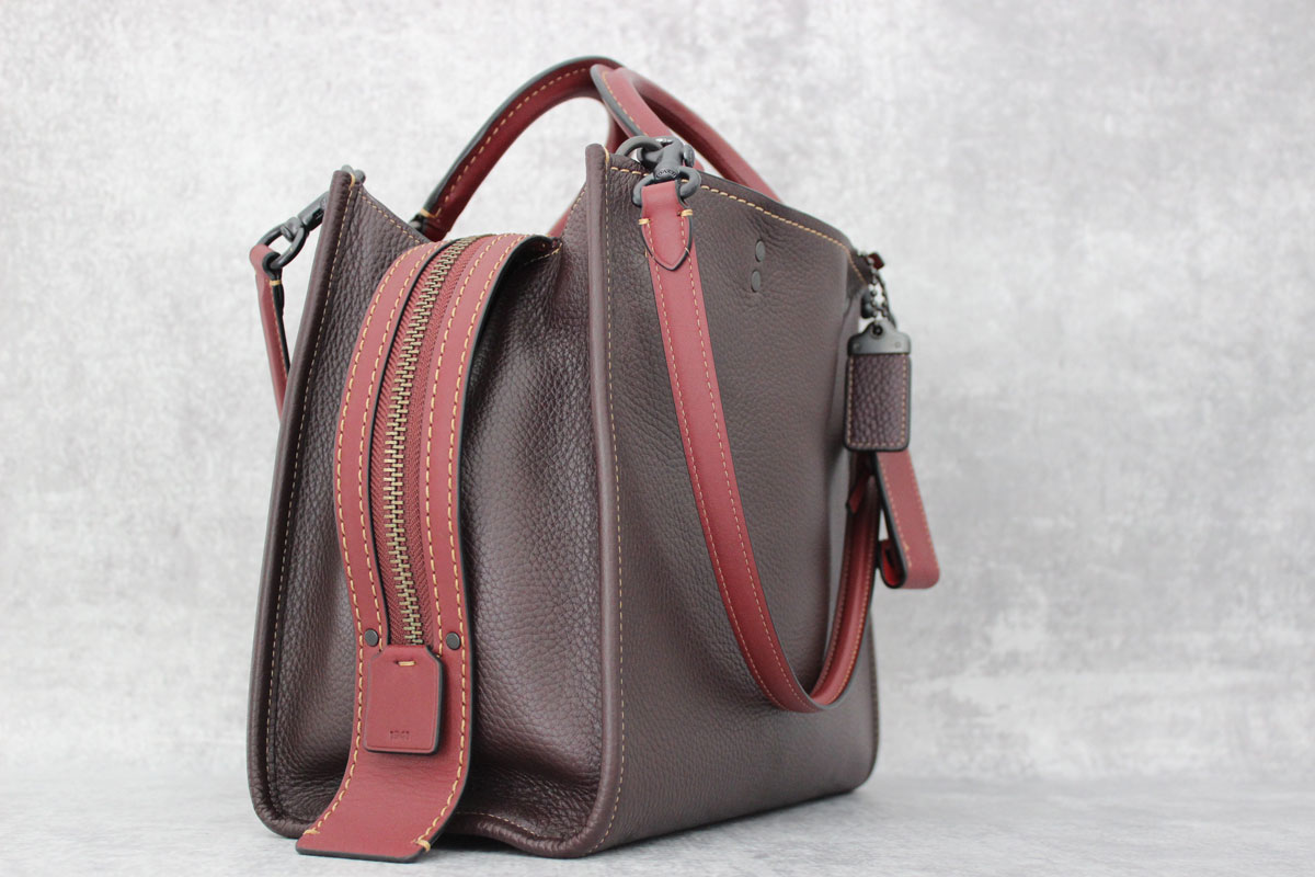 Coach Oxblood 1941 Rogue Bag Tap To Expand