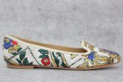 Dolce   Gabbana sequined floral flats size 37 39916dff025e3