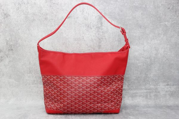 Goyard Grenadine Hobo Red