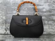 Gucci Vintage Bamboo Handle Bag Black