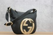 Gucci Black Leather Blondie Bag