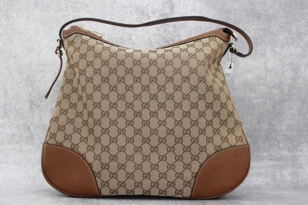 Gucci Bree GG Canvas & Leather Hobo