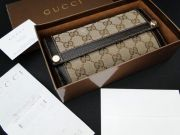 Gucci Monogram Continental CHARMY Wallet