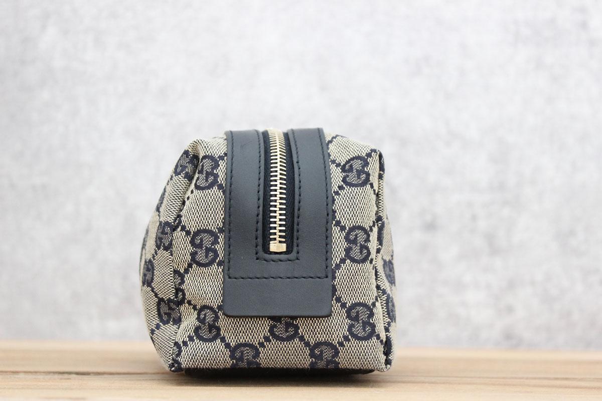 dafcb649d39e Gucci Original GG Web Cosmetic Case. Tap to expand