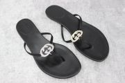 Gucci Crystal GG Thong Sandals