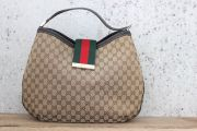 Gucci 'New Ladies Web' Large Hobo