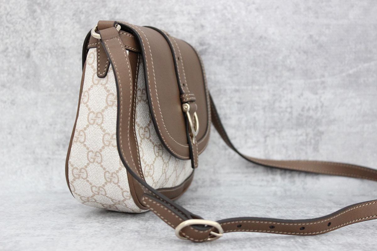 f6db29900a16 Gucci Nice GG Supreme Canvas Shoulder Bag at Jill's Consignment