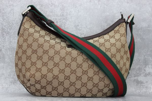 Gucci Original GG Canvas Messenger Bag