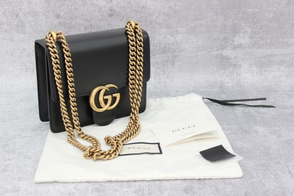595d579328b4 Gucci Marmont Black Bag Consignment | Stanford Center for ...