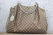 Gucci Large SUKEY GG Canvas Tote