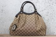 Gucci Sukey Medium GG Canvas Tote