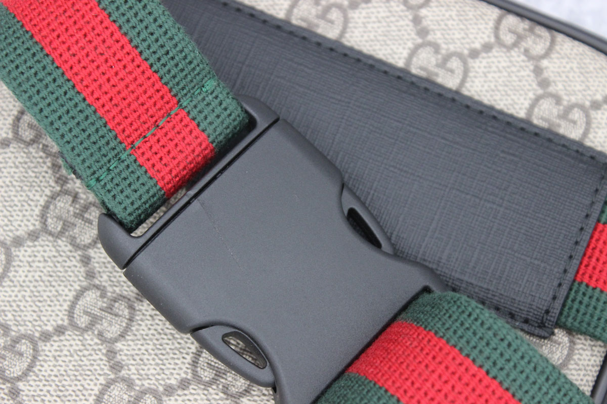 9a4b5e878db Gucci Two Pouch GG Supreme Belt Bag at Jill s Consignment