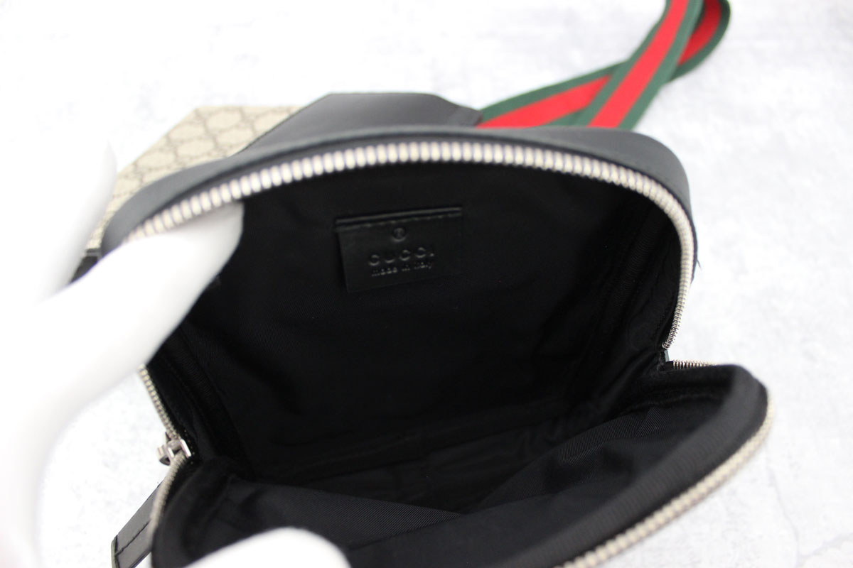 Gucci Two Pouch Gg Supreme Belt Bag At Jill S Consignment