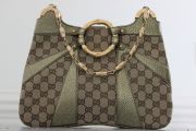 Gucci Tom Ford Bamboo Chain Monogram Shoulder Bag