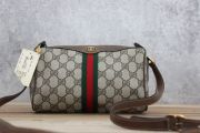 Gucci Vintage & New Brown Monogram Barrel Bag