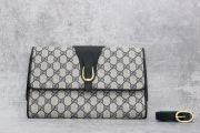 Gucci Vintage GG Monogram Clutch with Strap