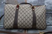 Gucci Vintage XL Boston Travel Bag