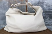 Gucci Beige Leather XL Horsebit Hobo