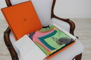 Hermes Grand Apparat Silk Scarf by Eudel