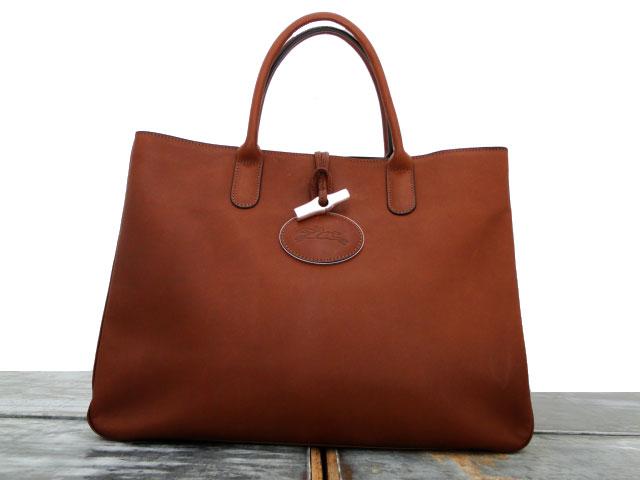 Longchamp ROSEAU HERITAGE Tote Brown