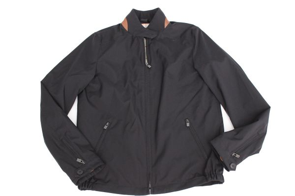 Loro Piana Black Roadster Pebble Beach Storm System jacket