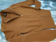 Loro Piana Brown Cashmere Zip Front Sweater 6