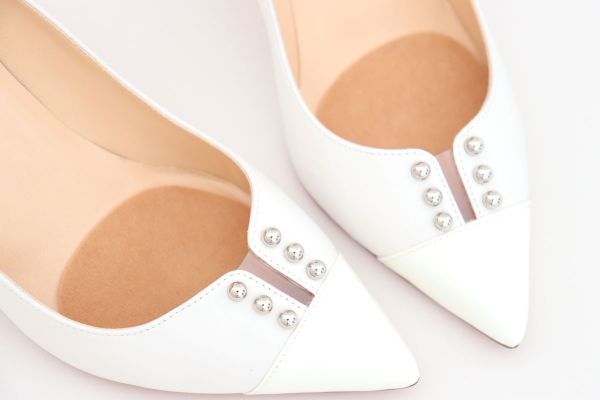 Christian Louboutin Predupump White Nappa Leather Pumps