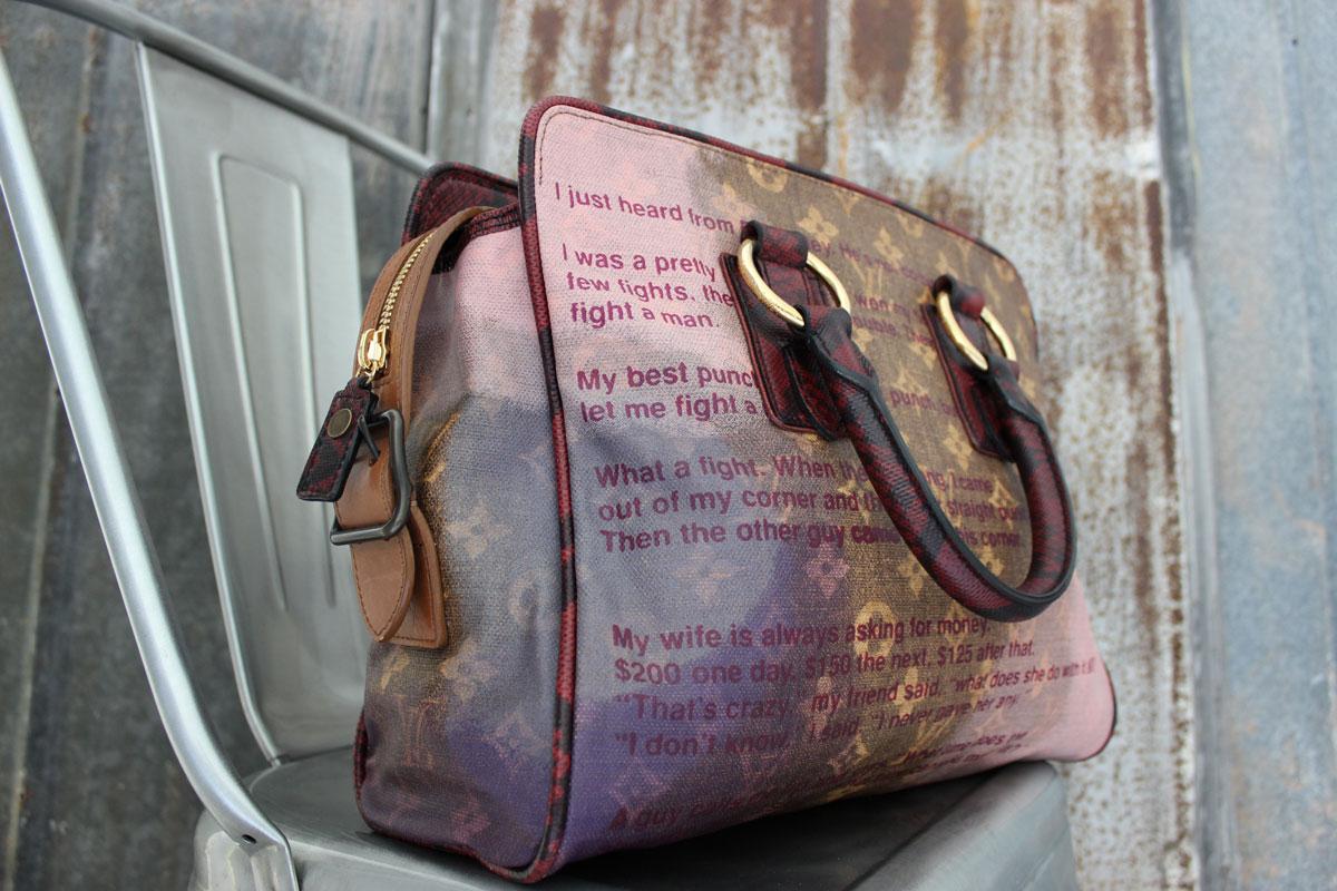 Louis Vuitton Richard Prince Jokes Graduate Bag