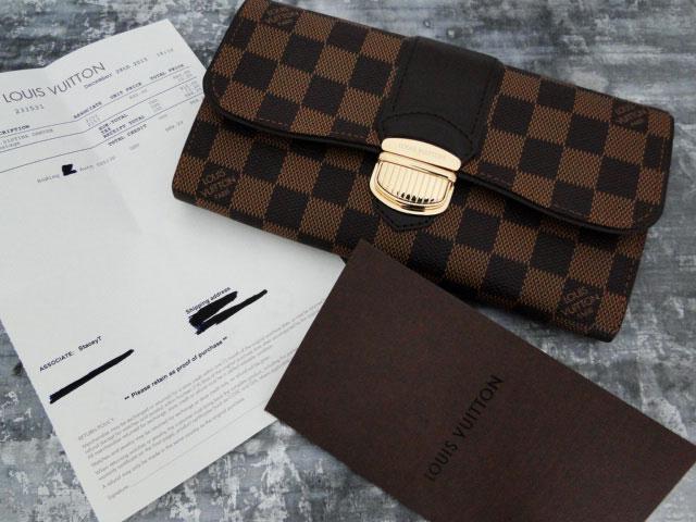 d8c35b86dcb4b Louis Vuitton SISTINA Wallet